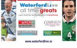 VOTE: Waterford All Time Greats semi-final - John Mullane v John O'Shea