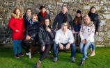 Italian travel agents with Tourism Ireland's Elena Zenzocchi and tour leader Massimiliano Pelli