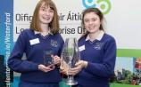 Ard Scoil na nDeise in Dungarvan's Caoimhe Keane and Lauren Douris won the senior award