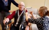 PHOTOS: Waterford man, 99, to 'dance the tango' after receiving Covid vaccine at Dungarvan nursing home