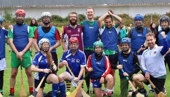 Irish diaspora play first ever hurling match in Finland