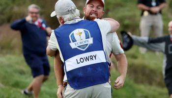 Shane Lowry wants another Ryder Cup appearance despite 'dog's abuse' suffered by his family