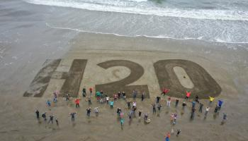 Sand Art Event highlights necessity for Bonmahon Water Quality Improvements