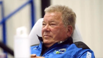 Star Trek icon becomes oldest person to go to space at 90 years old