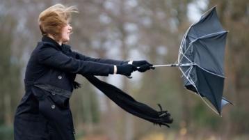 Met Eireann  wind warning