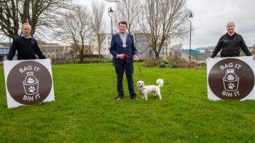'Bag it and Bin it': Waterford City and County Council launches new anti-dog fouling campaign