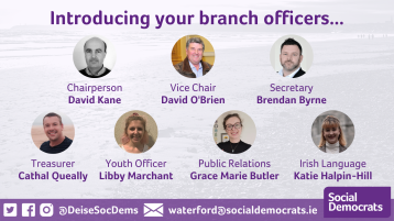 Waterford Social Democrats branch 'bringing people from all walks of life together'