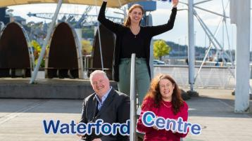 Paul Deegan (placement and development officer) Sharon Higgins (manager) and Catherine Power (chairperson) of the newly established Waterford Volunteer Centre