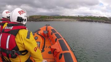 Two paddleboarders blown out to sea assisted back to shore by Bundoran RNLI