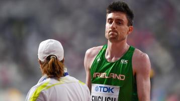 Stunning Mark English breaks Irish 800m record and gains Olympic Standard