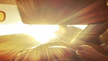 Drivers warned of dangers of sun glare in heatwave temperatures