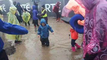 Watch: Total washout at day two of #Ploughing17