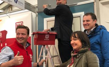 Waterford company put Fianna Fáil leader to work at Ploughing 2018