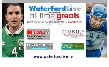 VOTE NOW: Waterford's All Time Great Final - John O'Shea v Michael 'Brick' Walsh