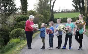 Star of Aldi ad is surprised by grandchildren in time for Mother's Day