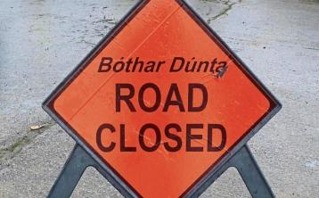 Waterford city road to close for one week