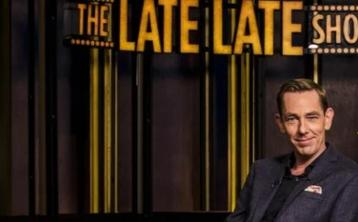 Guests revealed for this week's Late Late Show