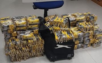 Revenue seize cigarettes worth €48,000 at Dublin Airport
