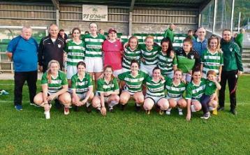 Carrick United senior ladies team win league title