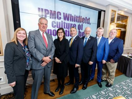 Waterford UPMC Whitfield join US colleagues to discuss