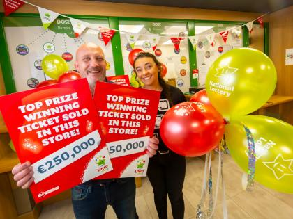 Waterford woman keeping €250,000 lotto win under wraps