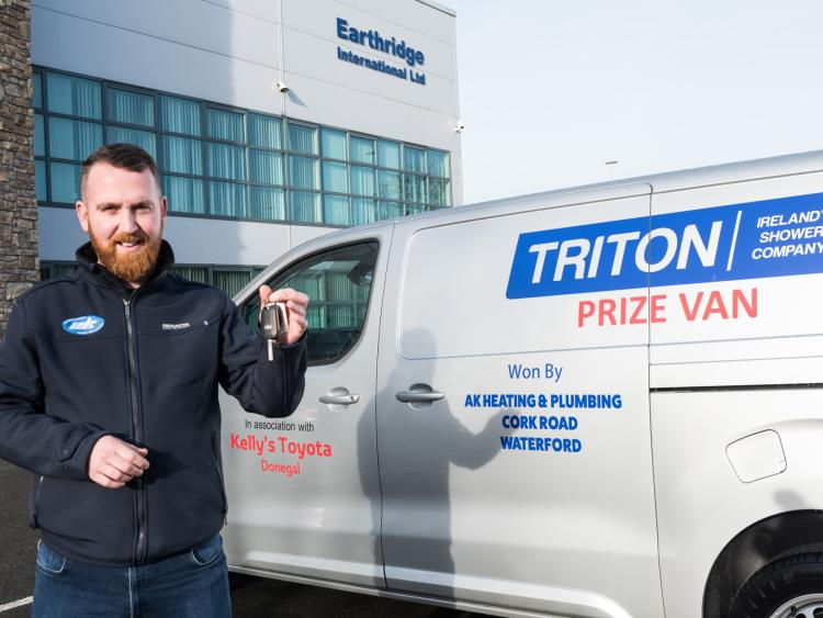 c897858d2c Waterford man takes top prize in Triton  Win A Van  competition ...